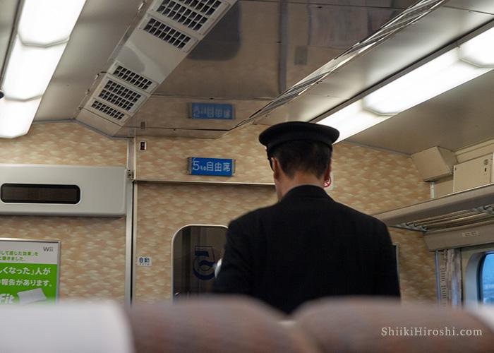 0系新幹線車内