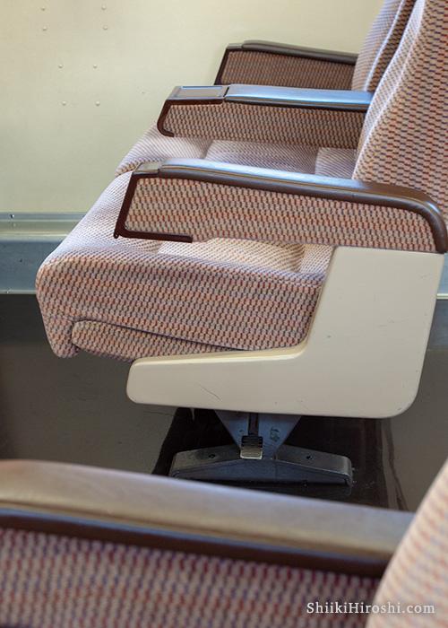 0系新幹線座席