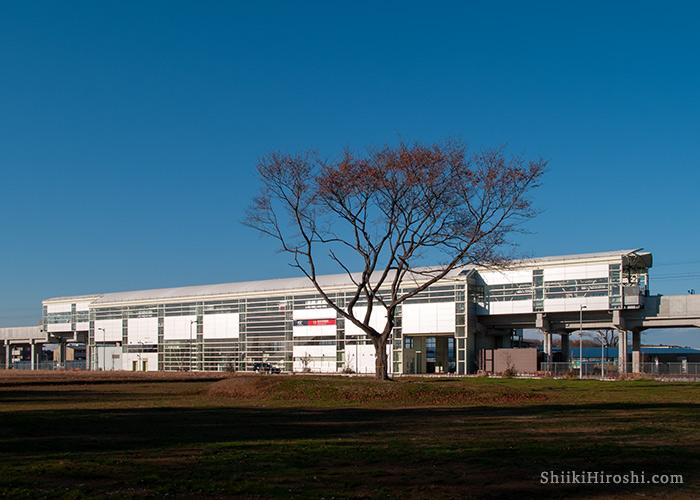 研究学園駅2006年