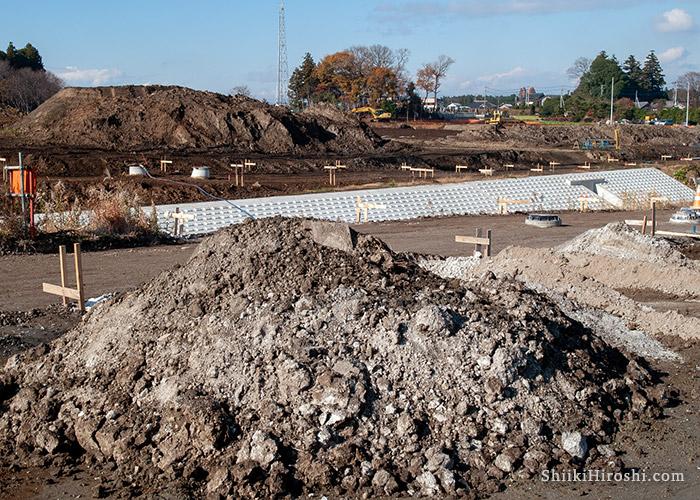 つくばハウジングパーク建設前