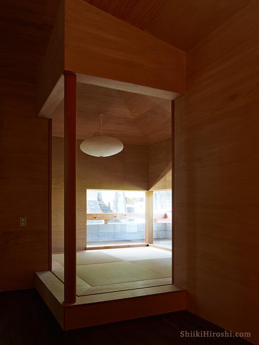 服部信康建築設計事務所Y邸和室