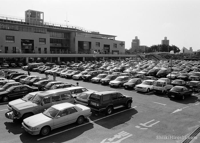 1997年つくばセンター駐車場